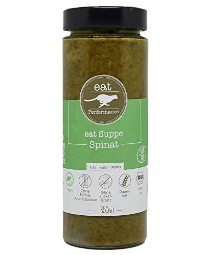 eat Performance® Spinat Suppe (350ml) - Bio, Vegan, Paleo, Frisch Gekocht Aus 100% Natürlichen Zutaten
