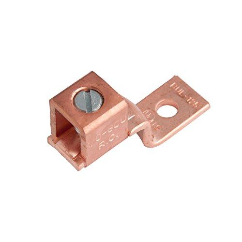 Gardner Bender GSLU-125 Copper Mechanical Lug, 1/0-6 AWG (2 pk)