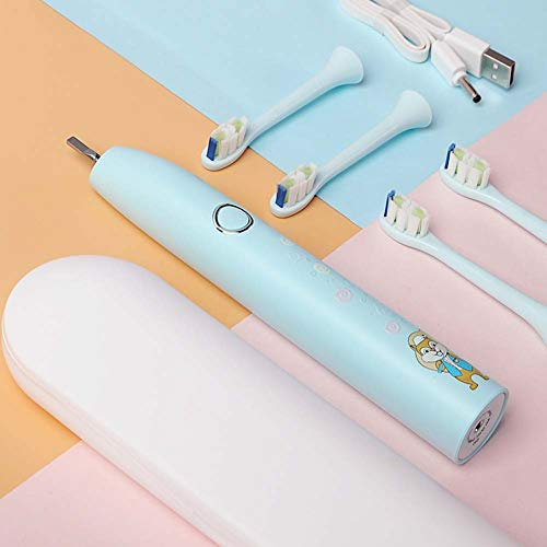 Infantil cepillo de dientes eléctrico enviar a los niños y los hombres...
