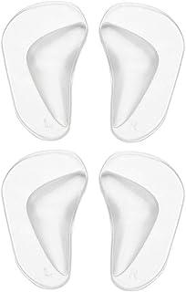 Plantillas ortopédicas de silicona, 2 pares/juego de planti