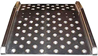 Capacity 60 x 48 B/&P Manufacturing ADS10-6048 Aluminum Dock Board with Steel Bolt-On Curbs 10000 lb