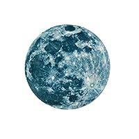 Farantasyウォールステッカー 20cm 3D DIYの大きい月の蛍光壁のステッカー暗いステッカーの取り外し可能な白熱