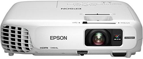 Epson EB-W28 LCD-Business Projektor (WXGA, Kontrast 10000:1, 1280 x 800 Pixel, 3000 ANSI Lumen) weiß