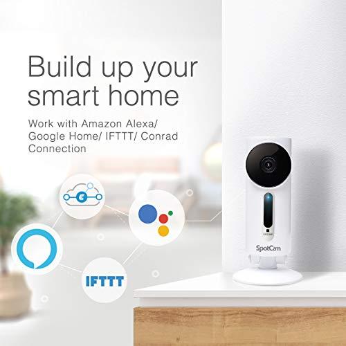 SpotCam 1080P Full-HD IP-Kamera – WLAN-Überwachungskamera Indoor mit Smart Home Integration - 7