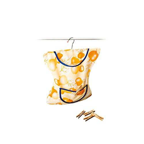 Wäscheklammer-Kleid mit Bügel 35 x 20 cm Wäscheklammern Wäscheklammernbeutel