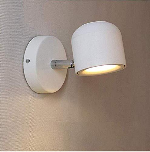 Meixian wandlamp met zonne-sensor en ouderwetse led-lamp voor industriële buitenverlichting binnenbedlamp (maat ?e: 5 W) eenvoudig retro