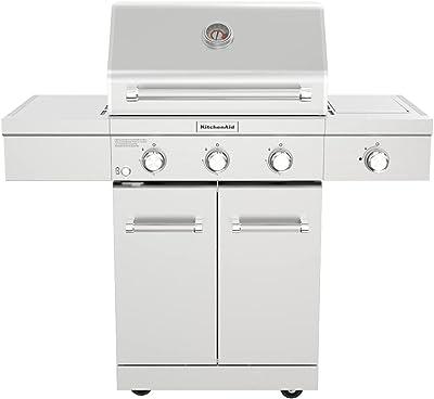 KitchenAid 720-0953L Gas Grill, Silver