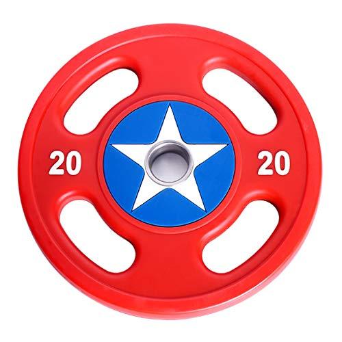 BORE Discos de Pesas Placas con Barra de 50 mm Placas centrales de Peso for Home Gym Fitness Plataformas Elevadoras Trabajar el Ejercicio con Barra Mancuernas de Culturismo Discos para Pesas