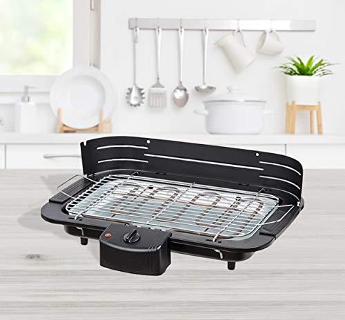 Livemore BBQ Barbeque Elektro-grill Cool-Touch Elektrischer Grill Elektrogrill Balkon Tischgrill (Tischgrill)
