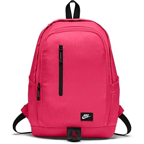 Nike NK All Access Soleday bkpk-s Gürteltasche, Unisex Erwachsene, Unisex – Erwachsene, NK ALL ACCESS SOLEDAY BKPK - S, Rush pink / ( schwarz / weiß)