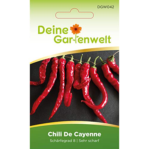 Chili De Cayenne | Samen für scharfe Chilis | Chilisamen | Cayennesamen