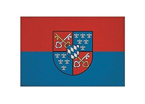 U24 Aufnäher Berchtesgaden Fahne Flagge Aufbügler Patch 9 x 6 cm