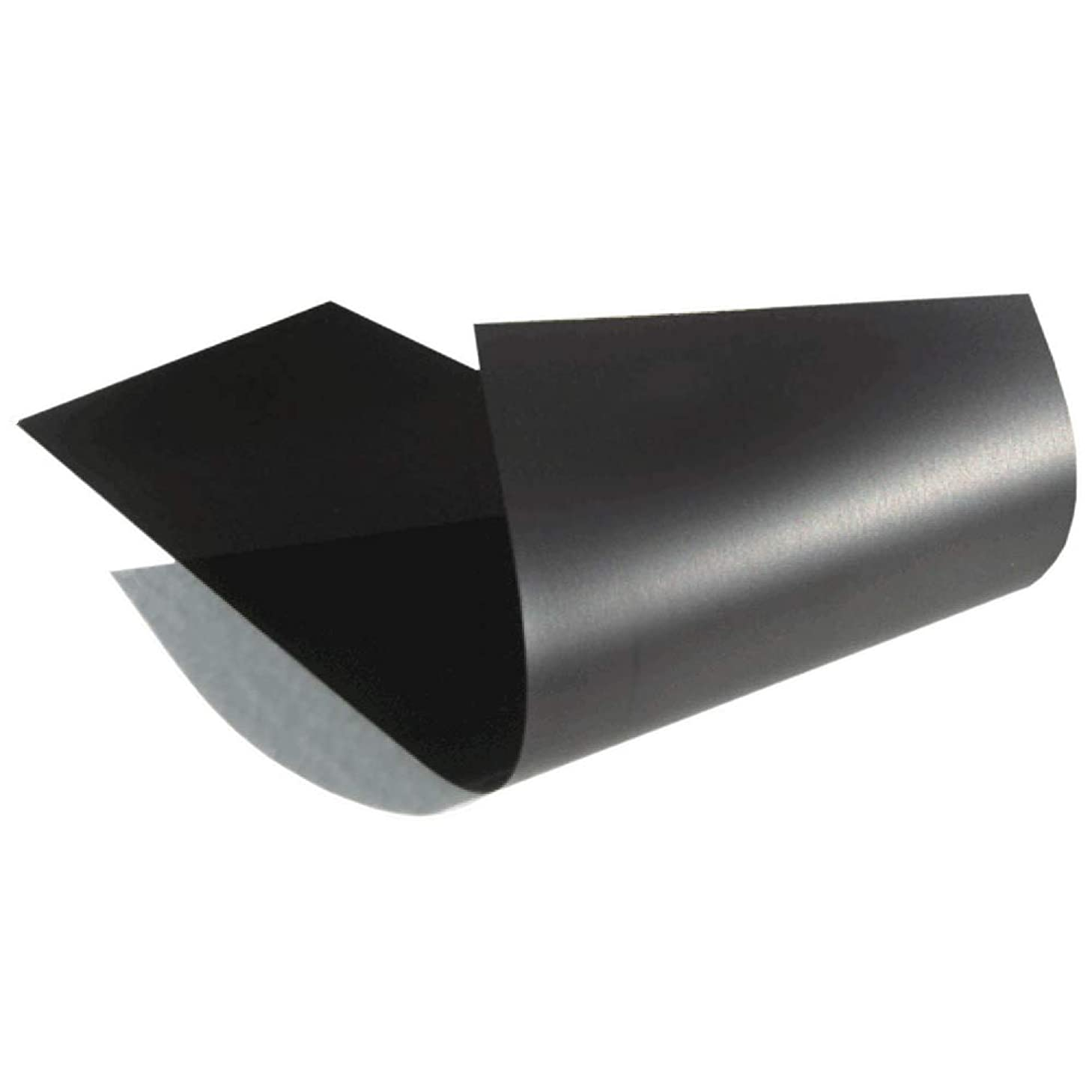 Magnetic Material Sheet 12 x 24-inch (.030 in. thick) Black Thin & Flexible for Magnetizing Bumper Sticker