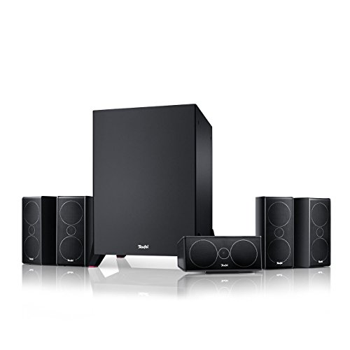 Teufel Consono 35 Mk3 Power Edition 5.1-Set Schwarz Heimkino Lautsprecher 5.1 Soundanlage Kino Raumklang Surround Subwoofer Movie High-End HiFi