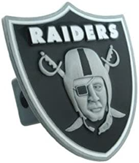 Siskiyou Oakland Raiders Large Logo Hitch Cover