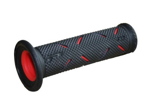 Progrip 717BlackRed 717 Superbike Grips,Black/Red