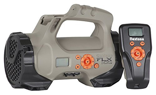 Flextone Vengeance Flex100 Electronic Game Call with Remote | Predator Call with 100 Preloaded Calls