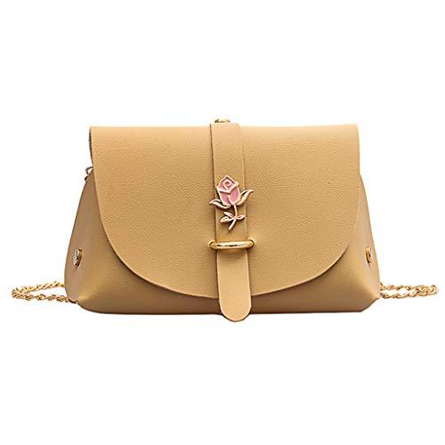 SSUPLYMY Damen Handtasche Crossbody Tasche Shell Schulter Umhängetaschen Messenger Bag,Frauen Normallack BlumenSchulter Beutel Heraus kleine Beute