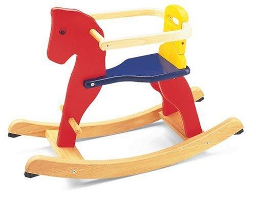 Pintoy PN92886 - Cavallo a Dondolo Sicurezza