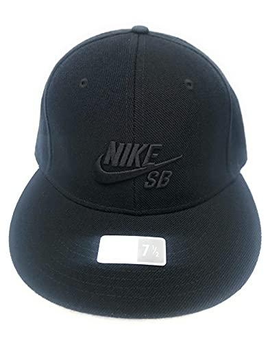 Nike Skateboarding Hombres Gorra Ajustada Negro 7 1/2 138818 010