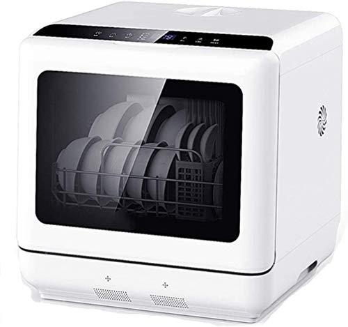 Bureau lave-vaisselle domestique lave-vaisselle automatique installation gratuite intégrée, l'eau douce + système de séchage à air chaud indépendant, 5l