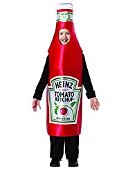Ketchup Halloween costume for kids