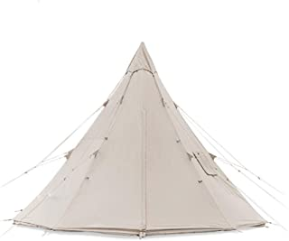 Outdoor Cotton Camping Tent Windproof Sunscreen Teepee Pyramid Tents Profound 9.6