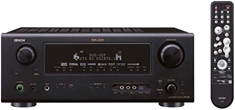 Denon AVR-888 7.1-Channel/5.1+2-Channel Independent Zone Home Theater Receiver with HDMI I/O and Serial I/R Control (Black) (Discontinued by Manufacturer)