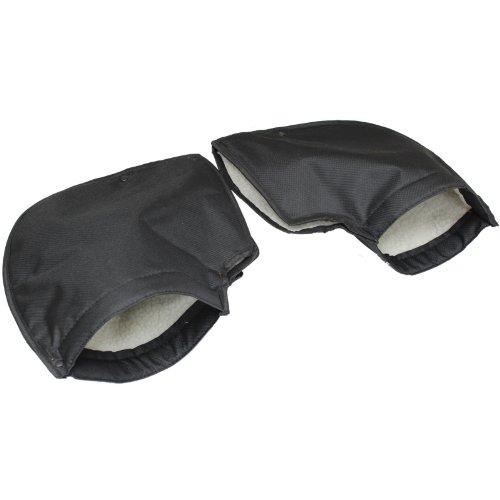 Ryde Fleece-gefütterte Motorradlenker-Stulpen/-Handschuhe