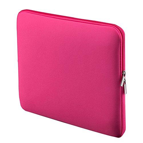 Sleeve for MacBook, Entweg Zipper Soft Sleeve Bag Case 15'-15.6' for MacBook Pro Retina Ultrabook Laptop Notebook Portable