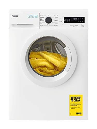 Zanussi ZWF745B4PW Freestanding Washing Machine, CleanBoost, Quick wash, 14 Programs, 7kg Load, 1400rpm Spin, Width 64cm, White [Energy Class A+++]