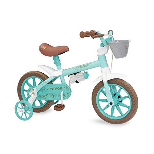 Bicicleta Infantil Aro 12 Antonella Baby Aqua, Nathor