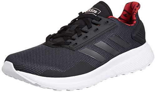 adidas Herren Duramo 9 Fitnessschuhe, Mehrfarbig (Negbás/Grisei/Gricin 000), 41 1/3 EU