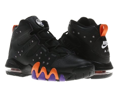 3620df553eacb Save 20% Nike Air Max Barkley (GS) Boys Basketball Shoes Black Black-Safety  Orange-Pure Purple 488245-001-5.5 For Sale