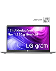 "LG gram 17"" IPS ultralekki notebook (Intel Core i5, 8 GB RAM, 512 GB SSD, Windows 10 Home) - ciemnoszary, QWERTZ"