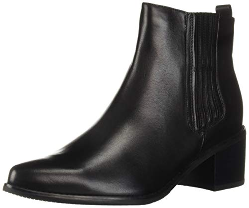 Blondo Women's Elvina Waterproof Fashion Boot, Black Leather, 11 M US
