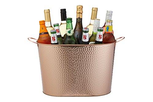 KitchenCraft bcpailcopham Party Tub, gehämmert Kupfer-Finish