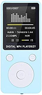 WZY 2019 Fashion Portable MP4 Lossless Sound Music Player FM Recorder Walkman Player Mini Support Music, Radio, Recording,...