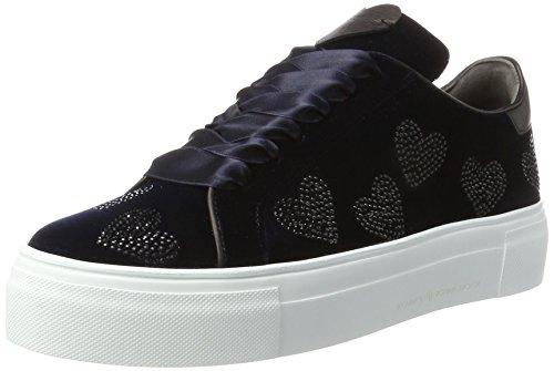 Kennel und Schmenger Damen Big Sneaker, Blau (Ocean/Black Sohle Weiss), 42 EU