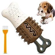UniPlus Dog Chew Toys For Aggressive Chewers, Ice Cream and Bone Shape Durable Dog Toys, Dog Teeth C...