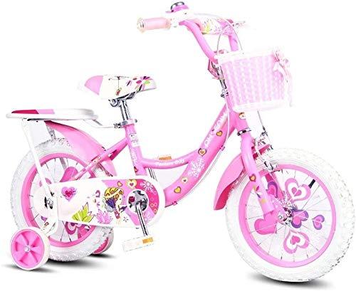 Nologo Fahrrad Kinder Fahrrad 14 Zoll-Jungen-Mädchen-Fahrrad 3-6 Jährig Kinderfahrrad