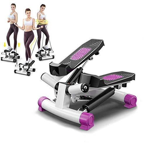 CWWHY Stepping Machine Multifunción Fitness Stepping Machine para Principiantes Y Usuarios Avanzados para Ejercicios Y Ejercicios En El Hogar
