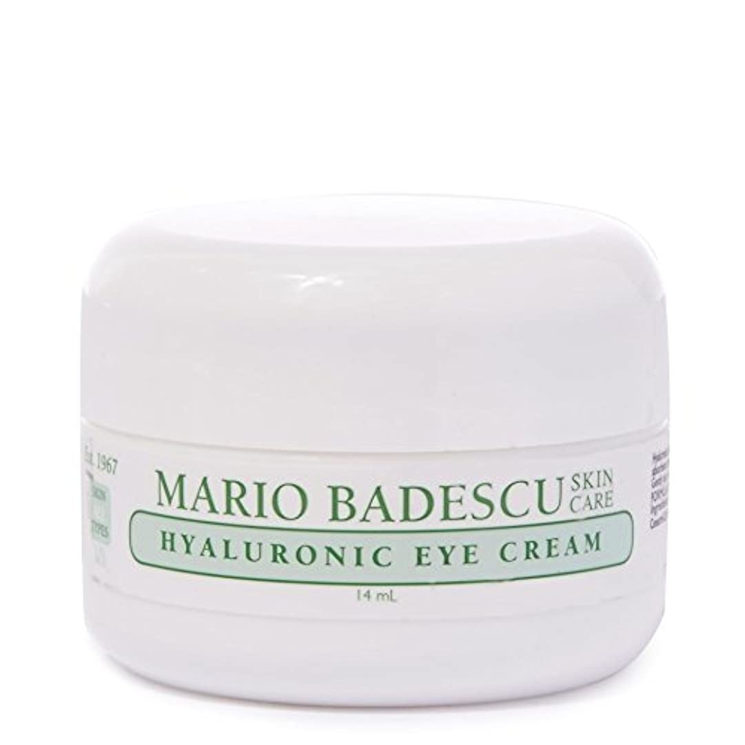 生きる予見する毛細血管Mario Badescu Hyaluronic Eye Cream 14ml (Pack of 6) - マリオ?バデスキューヒアルロンアイクリーム14ミリリットル x6 [並行輸入品]