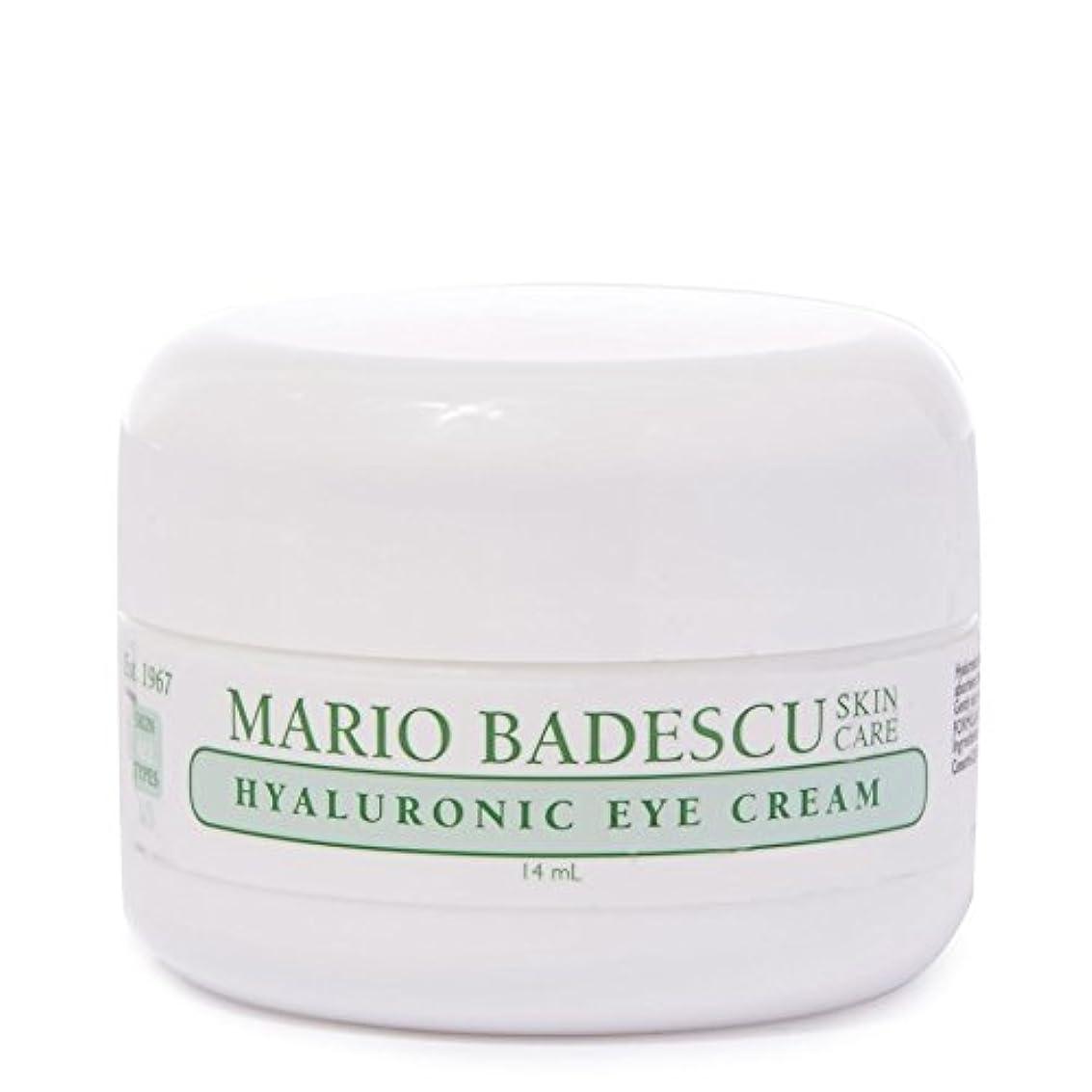 シャットうぬぼれた湖Mario Badescu Hyaluronic Eye Cream 14ml - マリオ?バデスキューヒアルロンアイクリーム14ミリリットル [並行輸入品]