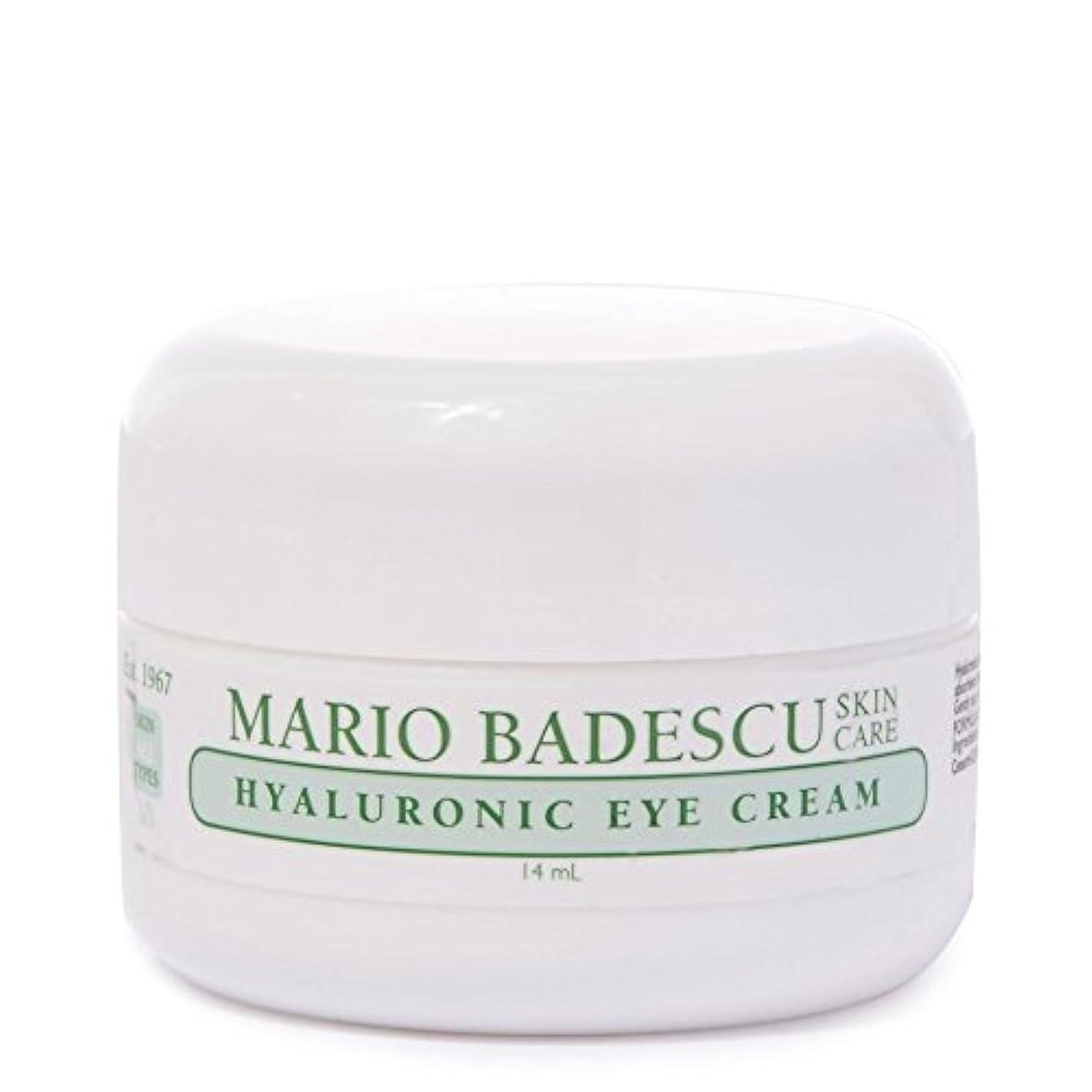 軽蔑依存キロメートルMario Badescu Hyaluronic Eye Cream 14ml - マリオ?バデスキューヒアルロンアイクリーム14ミリリットル [並行輸入品]