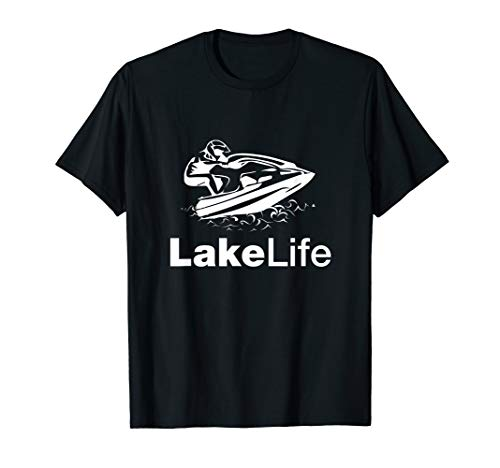 Stand Up Jet Ski Lake Life 2-Stroke T-Shirt