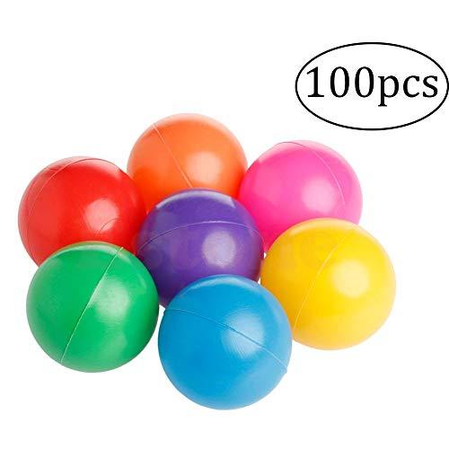 100 Piezas De Plástico A Prueba De Aplastamiento Juego Las Bolas Libre...