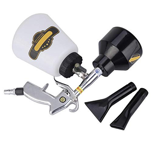 Pistola de limpieza de coche de aire, pistola de limpieza neumática de alta presión de limpieza de 1000 ml, para neumáticos de(American connector)
