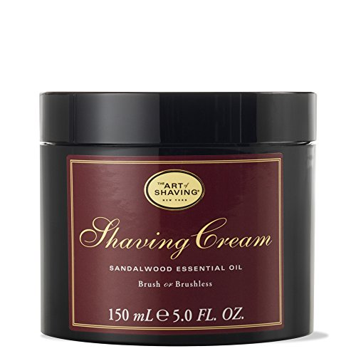 The Art of Shaving SANDALWOOD crème à raser (5 onces / 50 ml)(670535300038))