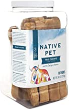 Native Pet Yak Chews for Dogs (Small, Medium, Large, and XL) - Pasture-Raised and Organic Yak Cheese Himalayan Dog Chews for Oral Health - Long-Lasting, Low Odor, Protein Rich, Edible Reward Treat